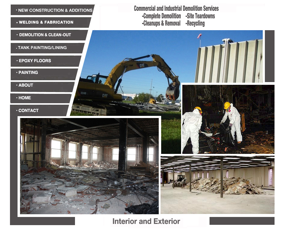 Pictures of Demolition Projects of D&B Demolition Contractors of New Jersey
